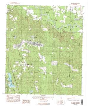 Mclaurin topo map