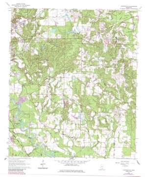 Carterville topo map