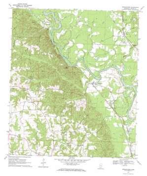 Morgantown topo map