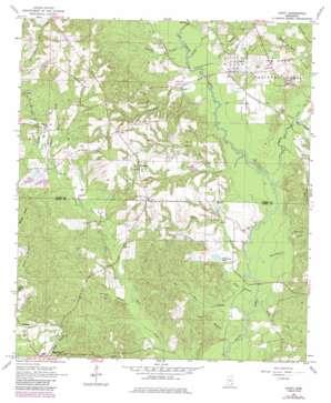 Ovett USGS topographic map 31089d1