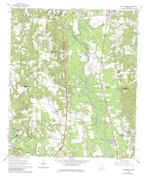 Eastabuchie topo map