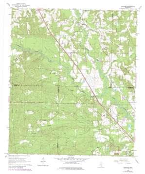 Sanford topo map
