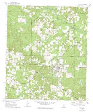 Sumrall topo map