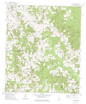 Bassfield topo map