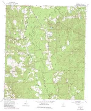 Lanham USGS topographic map 31089e1