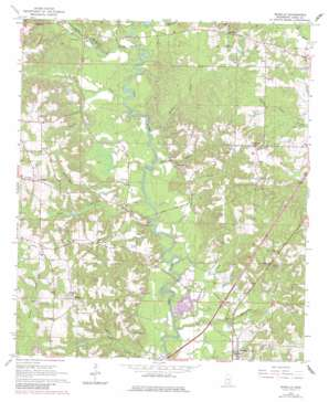 Moselle topo map