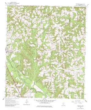 Seminary topo map