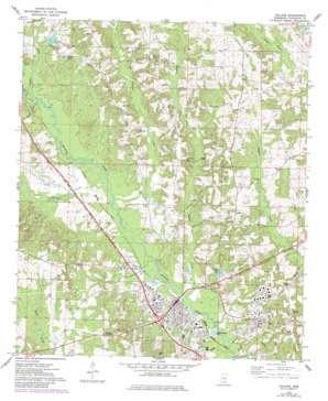 Collins topo map
