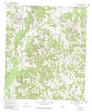 New Hebron topo map