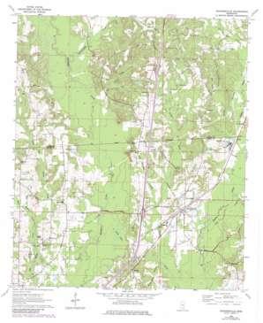 Sandersville USGS topographic map 31089g1