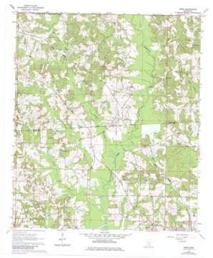 Moss topo map