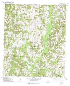 Soso topo map