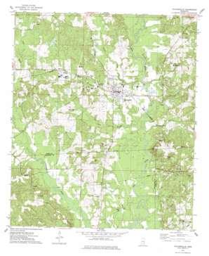 Taylorsville topo map