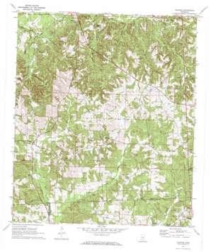 Shivers topo map