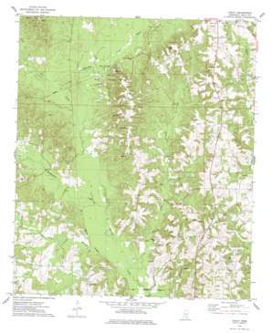 Cohay topo map