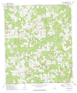 Terrys Creek topo map
