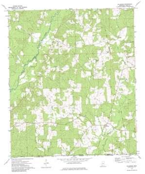 Gillsburg topo map