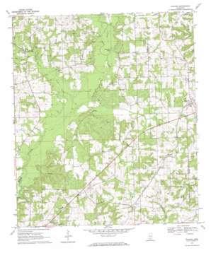Kokomo topo map