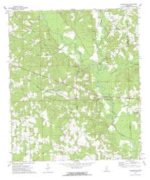 Holmesville USGS topographic map 31090b3