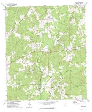 Peoria topo map