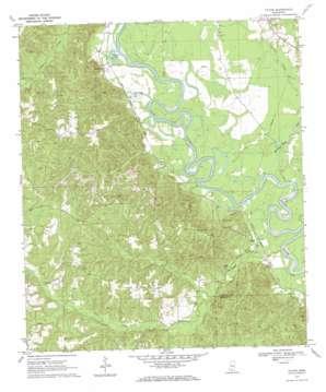 Tilton topo map