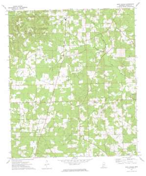 West Lincoln topo map