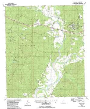 Meadville topo map