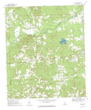 Nola USGS topographic map 31090e2