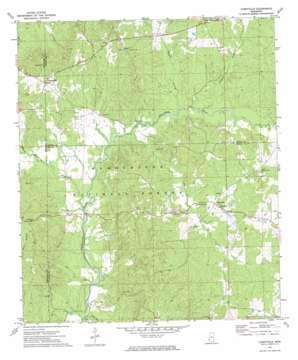Caseyville topo map
