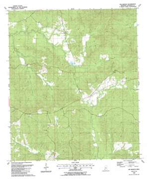 Gin Branch topo map