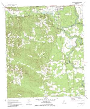 Georgetown USGS topographic map 31090g2