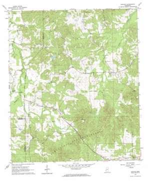 Barlow topo map
