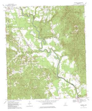 Hopewell topo map