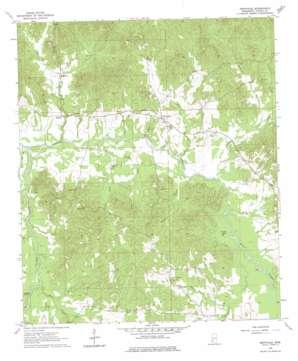 Dentville topo map