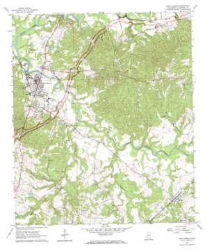 Port Gibson USGS topographic map 31090h8