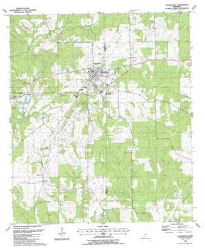 Centreville USGS topographic map 31091a1