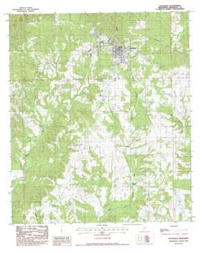 Woodville USGS topographic map 31091a3