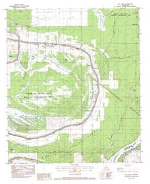 Big Bend topo map