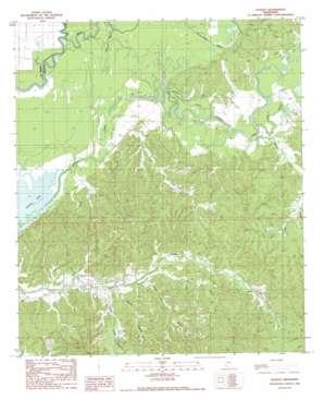 Lessley topo map