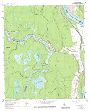 Shaw topo map