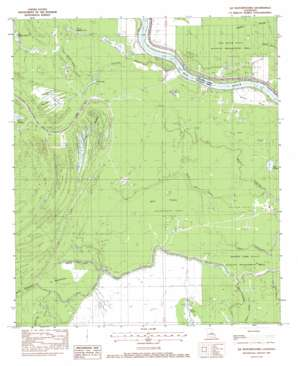 Ile Natchitoches USGS topographic map 31091b7