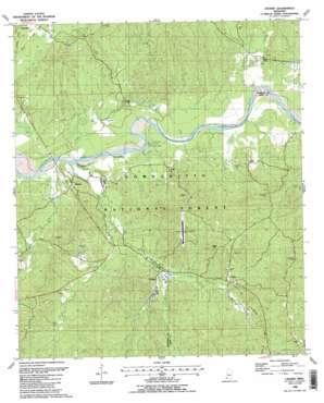 Crosby topo map