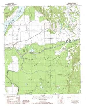 Buck Island topo map
