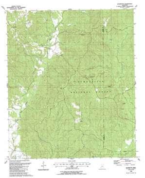 Jeannette topo map