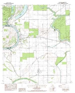 Monterey topo map