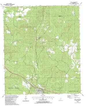 Roxie topo map