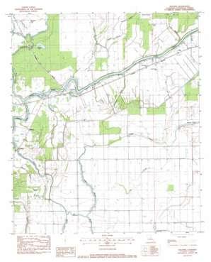 Walters topo map