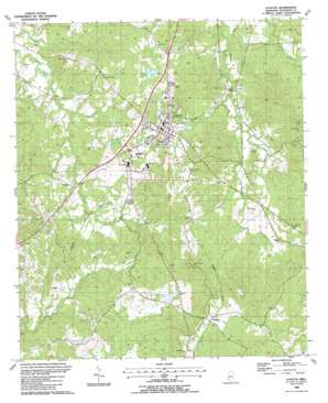 Fayette USGS topographic map 31091f1