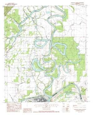 Jonesville North topo map