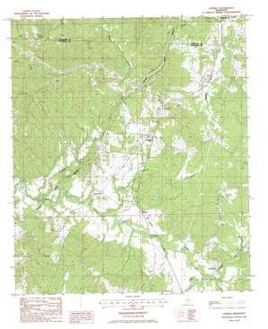 Lorman topo map